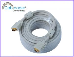 China Cableader VGA Monitor Cables 100FT High Quality VGA Cable Male to Male on sale