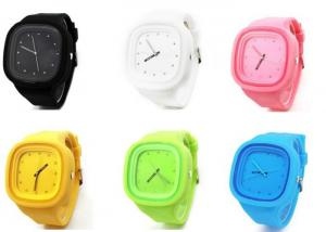 China Square Face Silicone Jelly Watch Jelly Silicon Unisex Casual Sport Wrist Watch  for Kids on sale