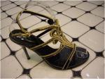 Señora zapatos de vestir de la belleza
