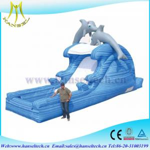China Hansel 2017 hot selling PVC outdoor inflatable play area inflatable animals on sale