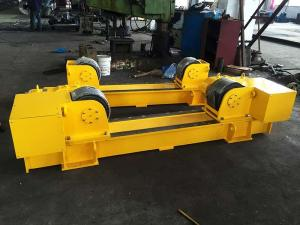 China ABB Motor 20T Conventional Pipe Roller Stands, 20T  Pipe Welding Rotator Bolt Adjustment on sale