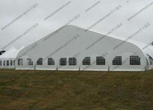 China Transparent Windows Curved Tent Aluminum Frame Easy Dismantled For Outdoor Event on sale
