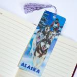PET Material 3D Animal Bookmarks 3D Lenticular Bookmark CMYK Printing