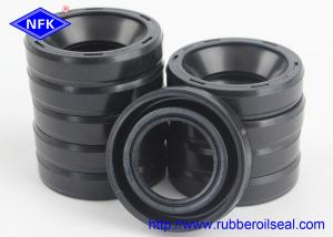 China NBR Material Rubber Oil Seal , NOK Double Lip Oil Seal For High Temperature on sale