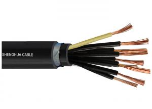 China Class 5 Armored Control Cables , Flexible Wire Cable WDZB-KYJYR22 OEM on sale