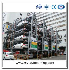 China 8 10 12 14 Sedans Vertical Rotary Automatic Car Lift Parking on sale