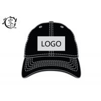 Running Workouts Outdoor Activities Printed Headwear , Embroidery Logo Polyester Sports Caps