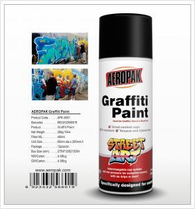 China Aeropak  aerosol can 450ml 10oz Graffiti spray paint with all colors on sale