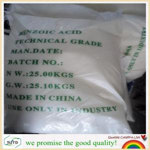 China Benzoic Acid 99.0%min industry grade/ CAS No.: 65-85-0 on sale