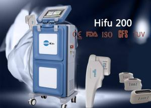 China High Intensity Focused Ultrasound Vertical Equipment For Wrinkle Removal Treatment on sale
