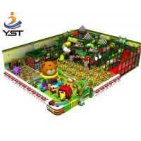 China Professional Indoor Soft Play Equipment Plastic Indoor Adventure Playground on sale