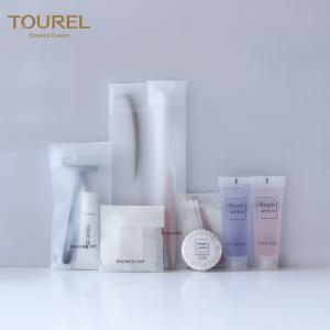 China ISO Certificated Hotel Bathroom Amenities Hotel Toiletries Travel Set on sale