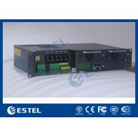 Outdoor 19 Rack Enclosure Rectifier System , Base Station Telecom Power System