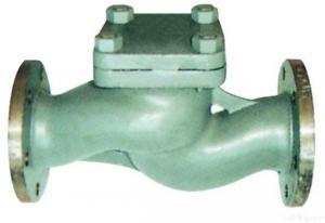 China Marine Cast Steel Flanged Check Valve on sale