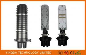 China Ovale thermo-rétrécissable du joint 1 + 8 clôtures rondes de fermeture optique/câble d'épissure de fibre on sale