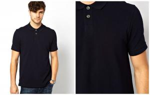 China Factory Wholesale Cheap Black Polo T Shirts polo shirts for men 100% cotton on sale