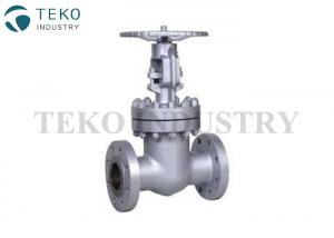 China Coating Surface WCB Material Industrial Valves , Cast Steel Flanged Gate Valve For WOG on sale