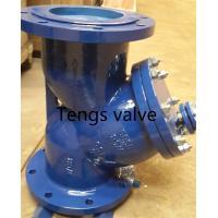 DIN Standard Y Type Strainer, Flanged RF Cast Carbon Steel PN10, PN16, PN25, PN40 Y Strainer