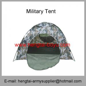 China Wholesale Cheap Army Camouflage Green Navy Wight Outdoor Camping Tent on sale