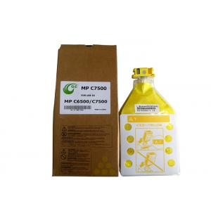 China Compatible Color Toner Cartridges Powder For MP C6500C Yellow 24000 Pages on sale