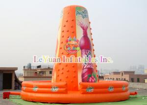 China WaterProof Inflatable Climb Wall Climbing Rocky Mountain For Kids Play on sale