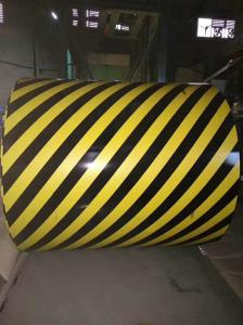 China Zebra Crossing Pre Painted Galvanized Coils Width 700-1600MM For Traffic Material / Tool on sale