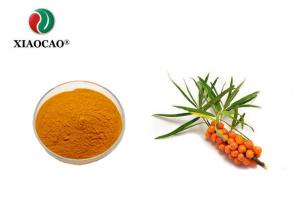China 100% Pure Sea Buckthorn Extract , Seabuckthorn Flavone Extract 10% on sale