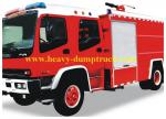 4X2 8000 Litres Fire Fighting Truck Power Steering 8 Forwards / 1 Reverse