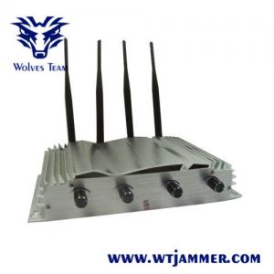 China 9W Jamming Range 500m Drone Signal Jammer WIFI 2.4g 5.8G GPS High Tech Rubber Antennas on sale