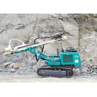 90mm To 115mm 5.8T Dth Drilling Rig Machine , Hydraulic Drilling Rig Easy Operation