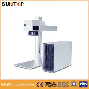 China Small fiber laser marking system for Jewelry inside and outside marking on sale