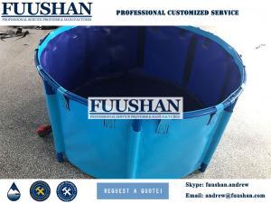 China Fuushan Top Selling Storage Portable PVC Water Tank / Frame Type Water Bladder on sale