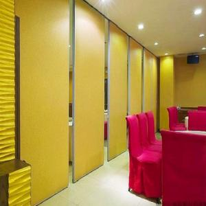 China Movable Sliding Folding Room Dividers for Banquet Hall / Sound Proof Partition Walls on sale
