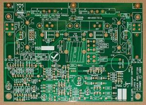 China Professional Industrial Control Multilayer PCB Board 4-Layer HASL Finishing UL & ROHS on sale