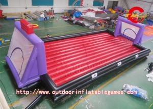 China Funny Inflatable Soccer Field , Indoor Inflatable Football Sports Game on sale