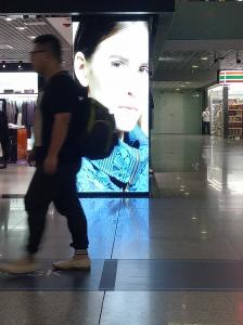 China Dustproof P10 Indoor Fixed Led Advertising Displays With Windows / Me / 200NT / XP System on sale
