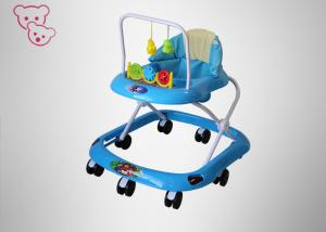China Ultralight Plastic Baby Walker ,  8 Wheel Baby Walker Romvable / Comfortable Seat on sale