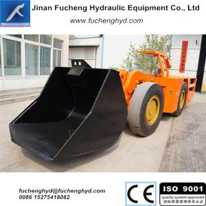 China FCYJ-4D Hot Sale articulated underground rock tunnel Scooptram, wheel loading shovel on sale