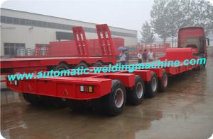 China 3 Axles Low Bed Semi Trailer Production Line For Special Vehicles Industry on sale