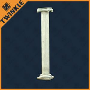 China Antique Carved Natural Stone Column Polished For Interior Decorative on sale