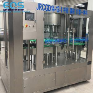 China Glass Bottling Sparkling Water And Carbonated Soda Filling Machine 3000BPH wholesale