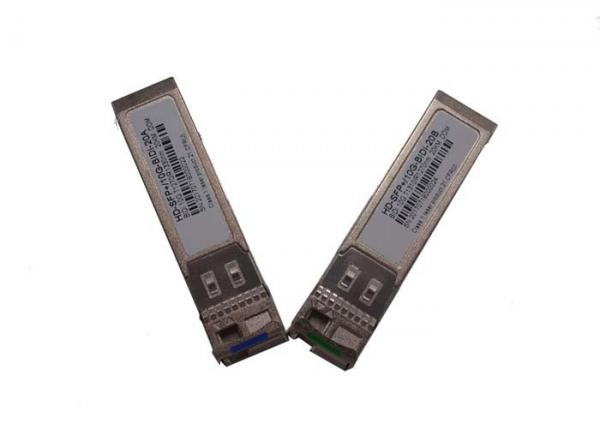 1270nm/1330nm BIDI SFP Transceiver Module Fiber Optic LC Connector