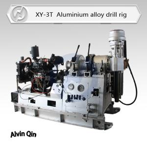 China aluminium alloy drilling rig XY-3T total weight 700kg, very light spindle type drill rig on sale