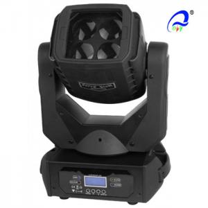 China Sound Activated Rgbw LED Disco Light 4 Pcs 25W With Super Beam Moving Head on sale