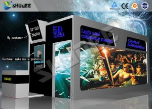 China Funny Entertainment XD IVR Movie Theater with VR Glasses , Motion Seats on sale