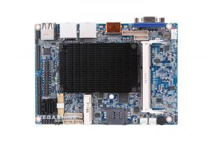 China Dual Channel 24bit LVDS Intel Atom™ N2800 CPU ,3.5  fanless EPIC  Embedded Motherboard on sale