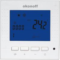 China LCD HVAC Digital Room Fan Coil Temperature Control Thermostat (S400) on sale