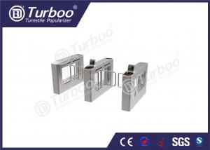 China Durable Pedestrian Barrier Gate Automatic Bidirectional Face Identification on sale