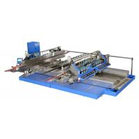 Professional Blue Glass Straight Line , Double Edger Machine High Speed,Double Glass Edger,Straight Line Glass Edger