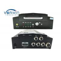 4 Channel AHD basic GPS HDD MDVR , free player mobile dvr for vehicles
